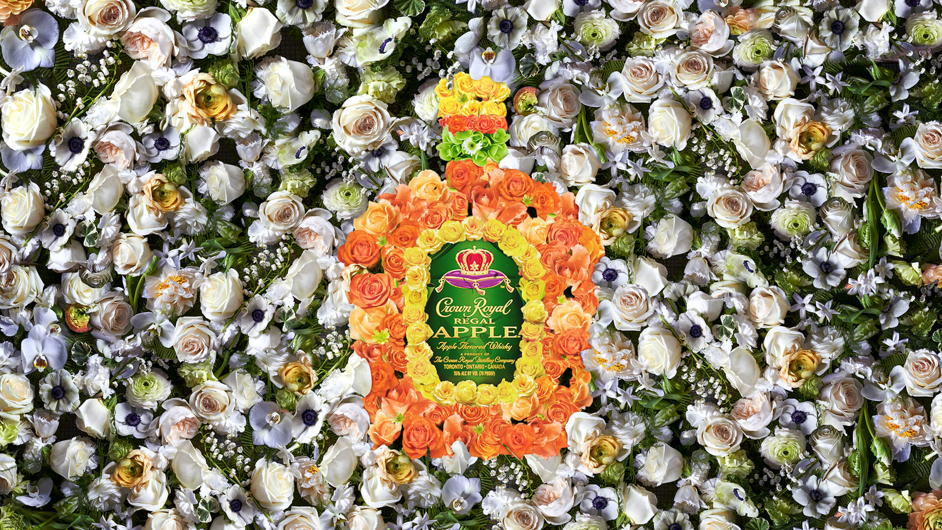 Crown Royal Scene Classic Flowerbed