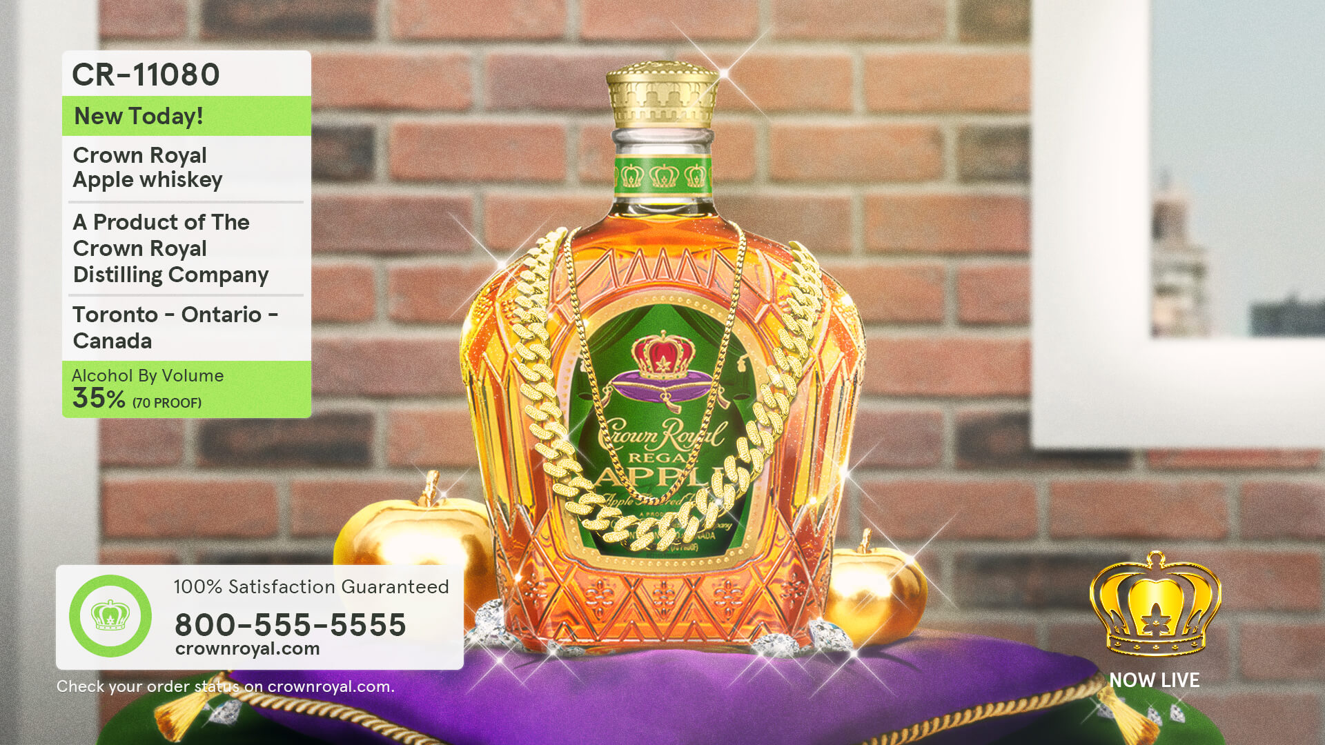 Crown Royal Scene Classic Shopping Channel