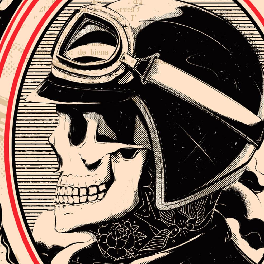 Personal Branding Detail Skull