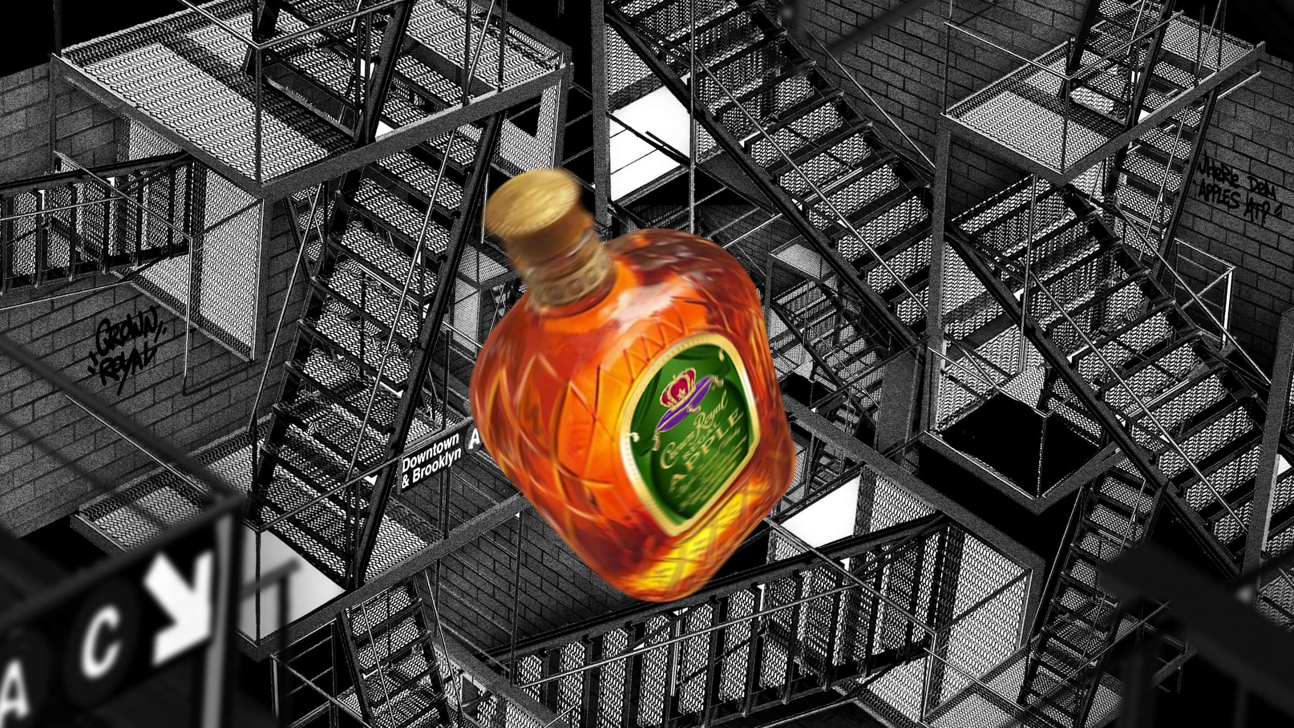 Crown Royal Scene Escher