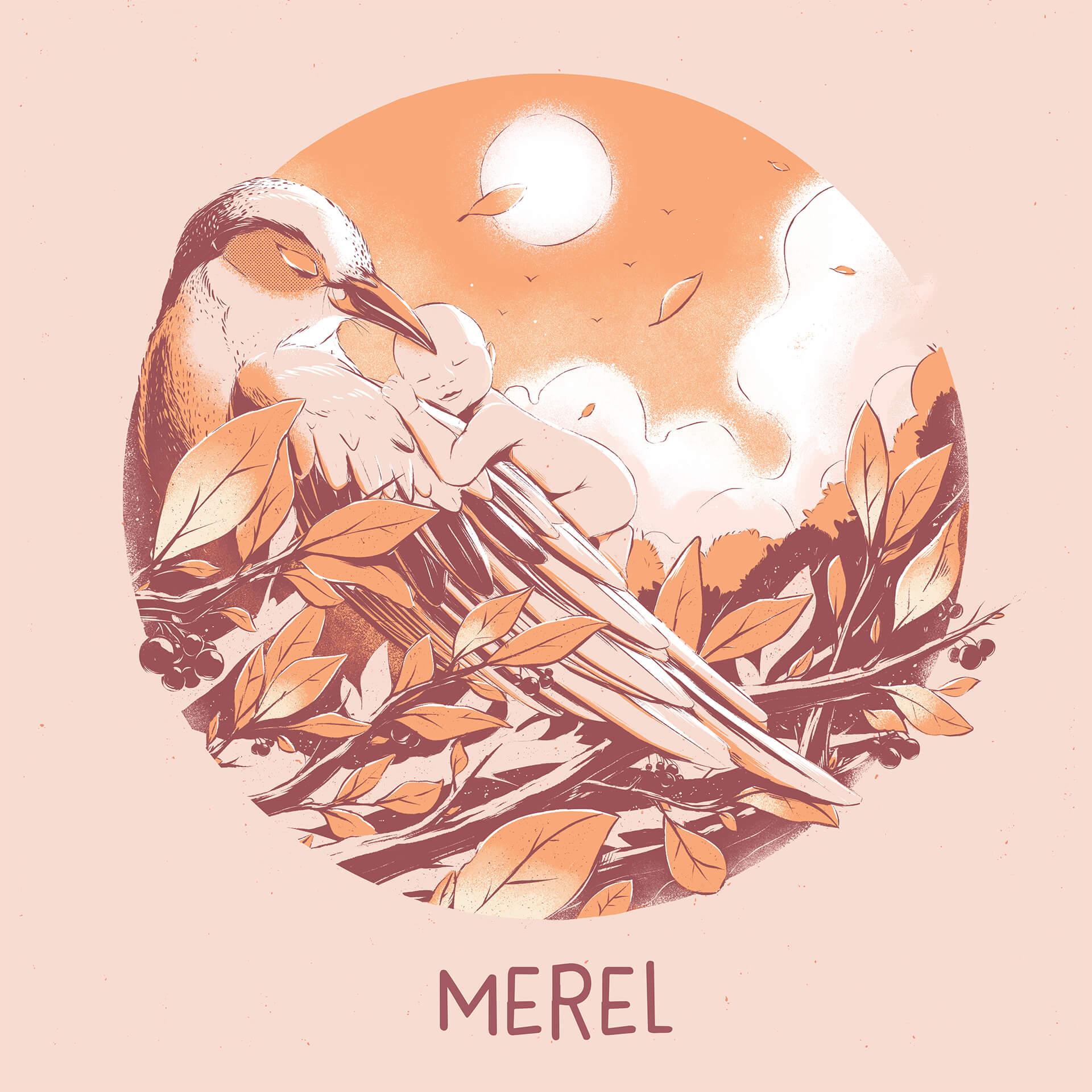 Merel Birth Announcement