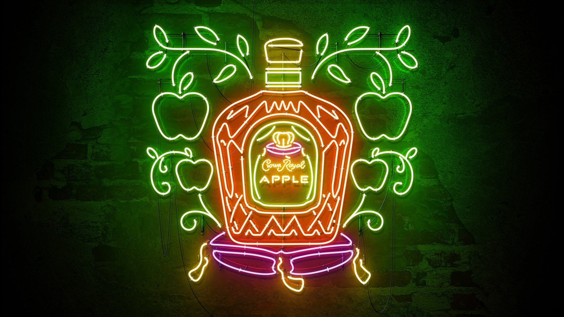 Crown Royal Scene Neon
