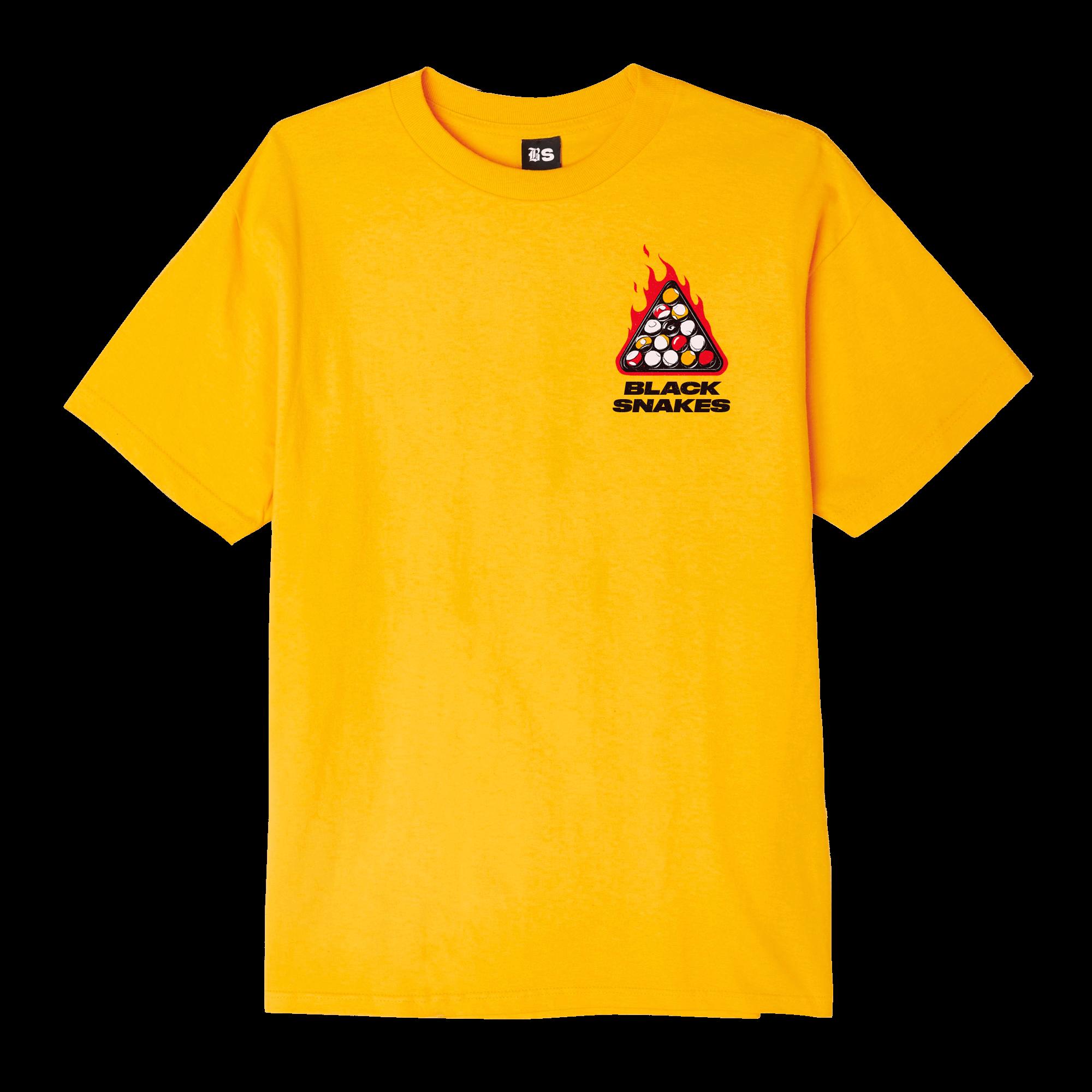 Black Snakes T-shirt design Front 1