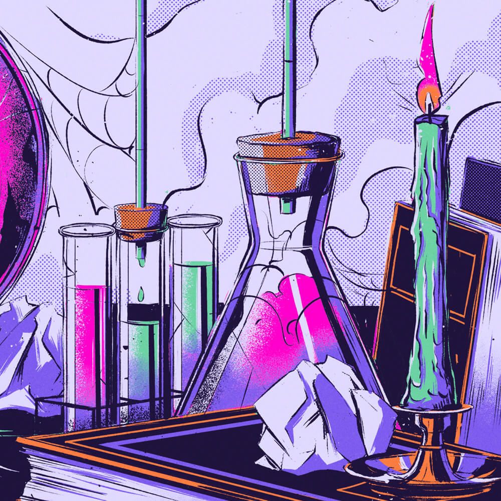 Doctor Wicked Detail Test Tubes