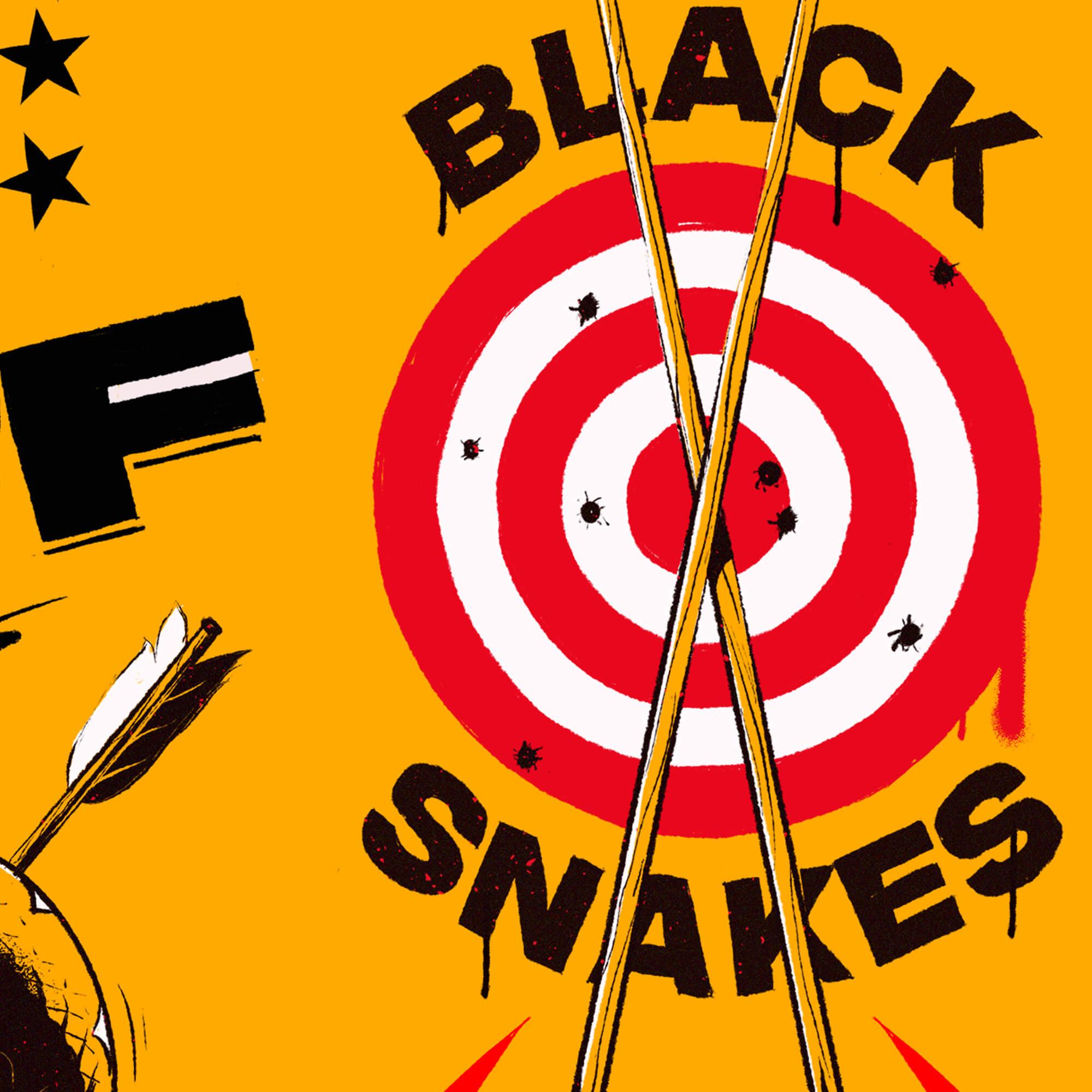 Detail Black Snakes Illustration 3